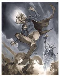 Supergirl AEP by MahmudAsrar