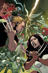 All-New X-Men 36 Cover by MahmudAsrar
