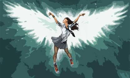 Melek - Angel by MahmudAsrar