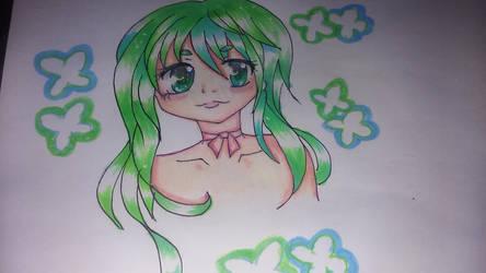 Pretty In Blue  Green by Misha444