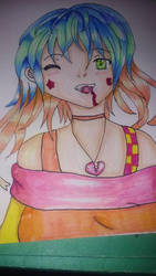 vampire girl finish by Misha444