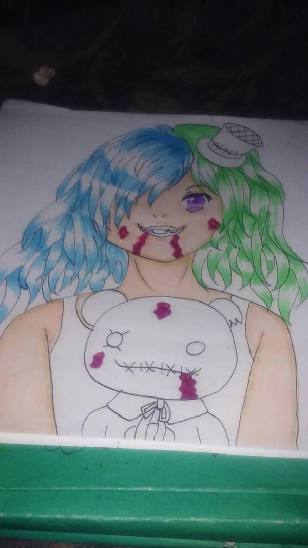 Vampire Aika WIP by Misha444