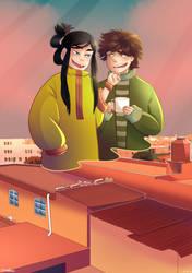 Amor en la ciudad de Puebla by FanyMohinder