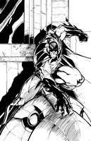 Batman Action Pose by 7daywalk