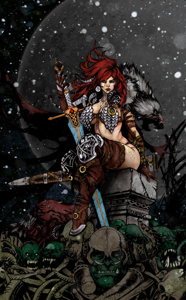 Red Sonja by HrnArt