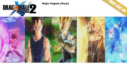 XV2 Vegeta (Majin) Pack [X2M] by diegoforfun
