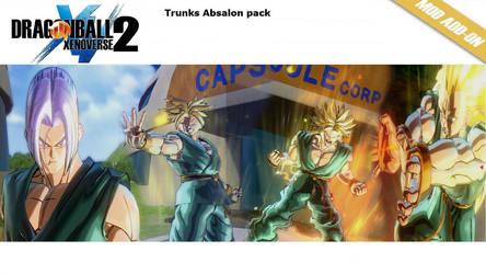 [XV2]Trunks Absalon (Base-SSJ3) X2M by diegoforfun