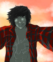 Marshall Lee by INU-KAG-LOVE