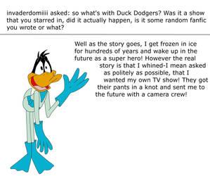 Duck Dodgers On Daffyadmirers Deviantart