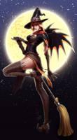 Witch-Mercy by Starrrrrrry