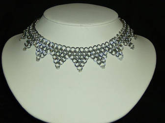 Chainmail Choker by specialmajick