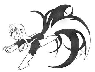 Swirl Tail by TaralWayne