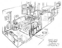 Darl's Old Apartment by TaralWayne