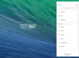 OS X Mail Redesiged Mailboxes by r2ds