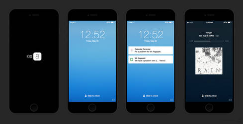 iOS 8 Concept by r2ds