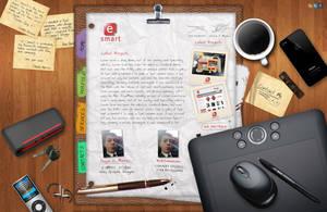 Desk Portfolio For Sale by cm96