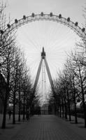 Beneath the Eye of London by cm96