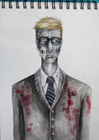Preppy Zombie by Schwabbles