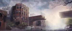 Post-apocalypse by razzfoe