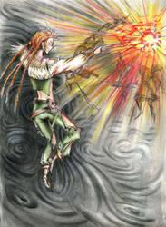 Fireball in Astral by Delhar
