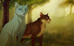 Forest Cats by WhiteKimya