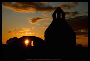 Abbeyshrule Abbey, Ireland by fluffyvolkswagen