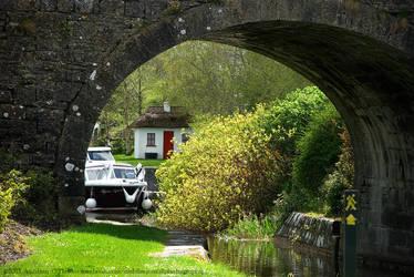 Abbeyshrule Canal Bridge, Ireland II by fluffyvolkswagen