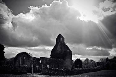 Abbeyshrule Abbey, Longford, Ireland by fluffyvolkswagen