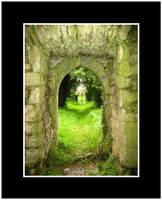 Tristernagh Church Doorway II by fluffyvolkswagen