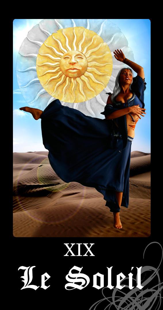 NuN Tarot : Le Soleil by Khalija