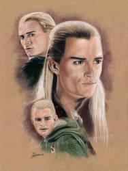 Legolas II by Jeanne-Lui
