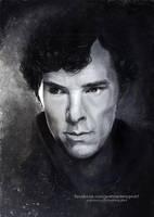 Sherlock   Speedpainting by Jeanne-Lui