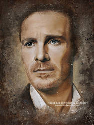 Michael Fassbender | Speed Art by Jeanne-Lui