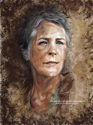 Carol Peletier - The Walking Dead | Speed Art by Jeanne-Lui