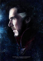 Doctor Strange (Benedict Cumberbatch) | Speed Art by Jeanne-Lui