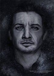 Jeremy Renner | Speed Art by Jeanne-Lui