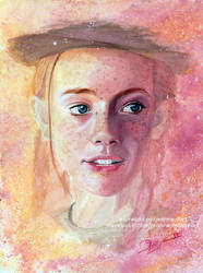 Anne with an 'E' (Amybeth McNulty) | SpeedArt by Jeanne-Lui