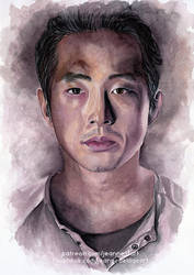 Glenn - The Walking Dead | SpeedArt by Jeanne-Lui