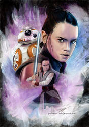 Rey - Star Wars The Last Jedi by Jeanne-Lui