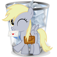 Recycle Bin (full) by Liggliluff
