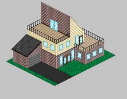 Pixel House by AkatsukixShihana