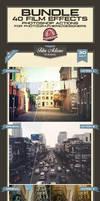 Film Effects Photoshop Actions - Premium! by baturaN