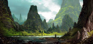 Landscape by Grosnez