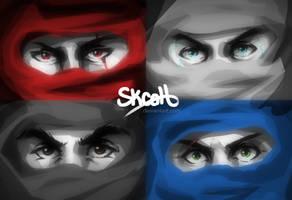 Four Ninja by skcolb