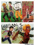 Lavellan Why Are You Like This by FreckleF0x