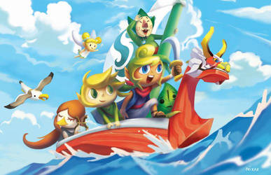 The Legend of Zelda: The Wind Waker by nixax