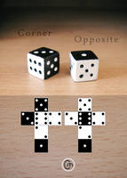 Corner and Opposite Dice by JaffaCakeLover
