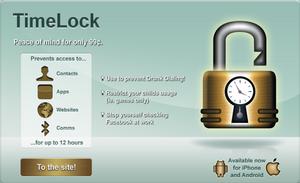 TimeLock advert by JaffaCakeLover