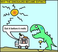 Dinosaur Comic by JaffaCakeLover