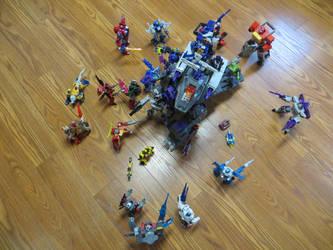 Titans Return Grand Battle by preceptorexe